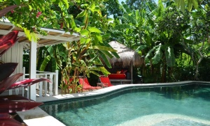 location villa bali garden house 6