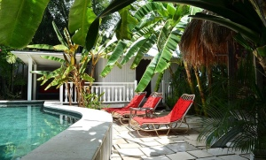 location villa bali garden house 7