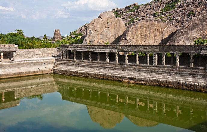 Tiruvanamalai - Gingee - Tiruvanamalai