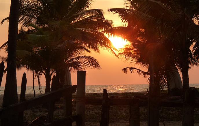 Malabarküste - Kochi Flughafen