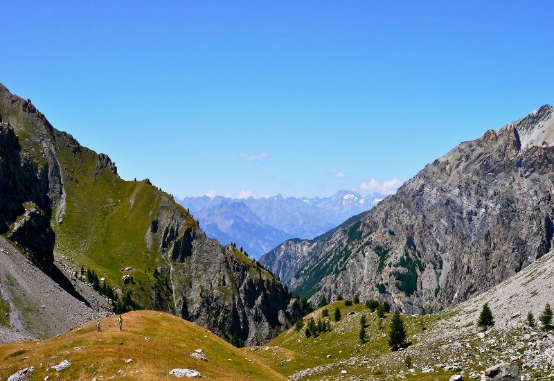 Tornior (2510 m) - Rhuilles (1665 m) - Thures (1650 m)