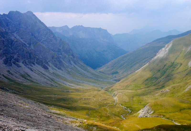 Thures (1650 m) - Col Chabaud (2215 m) - Fonds de Cervières (2040 m)