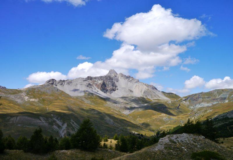 Fonds de Cervières (2040 m) - Col Peas (2629 m) - Souliers (1820 m)