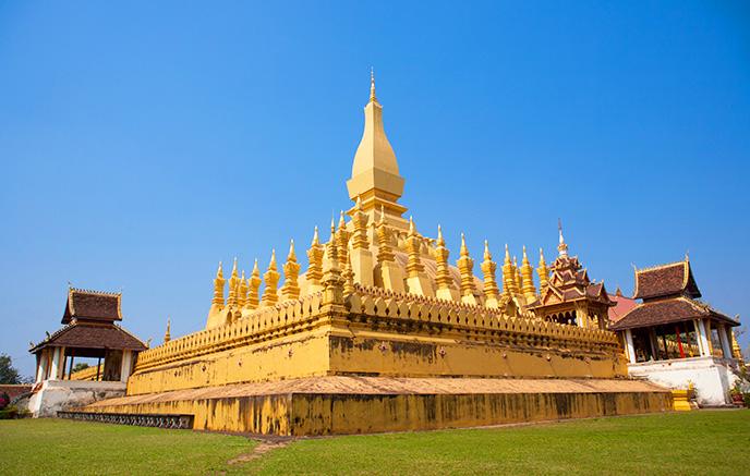 Arrivée à Vientiane