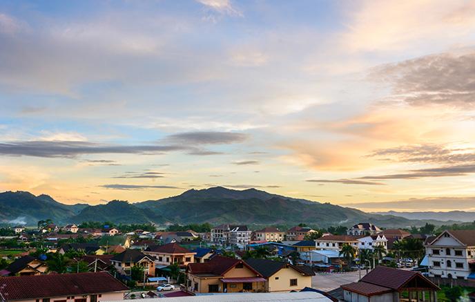 Luang Namtha – Oudomxay via Mont Pou Tha