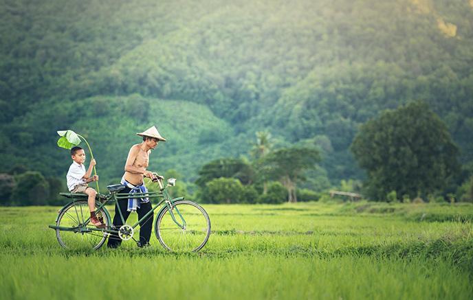 Luang Namtha - Randonnée dans Nam Ha