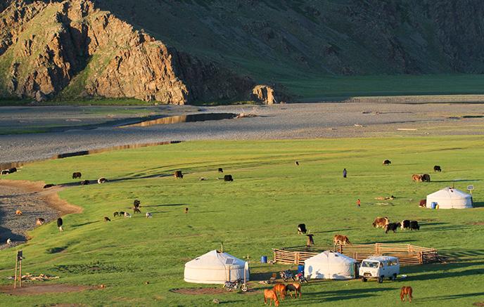 Montagnes Du Bas Khangai