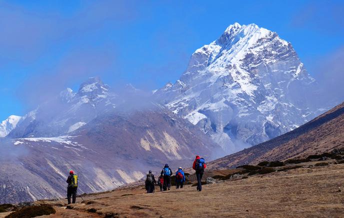 Pangboche–Chhukung|4 730 m