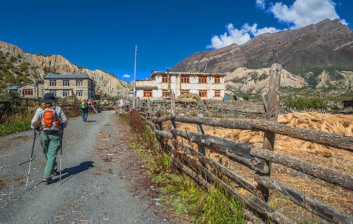 Ghandruk – Naya Pul – Pokhara