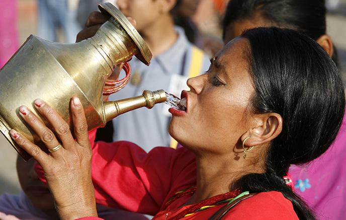 De Katmandou à Dhulikhel
