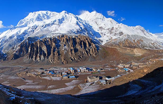 Pokhara – Phedi - Pothana (1990m)