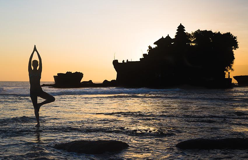 Yoga & marathon sur l'île des Dieux