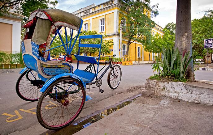 L'ancien comptoir français : Pondicherry