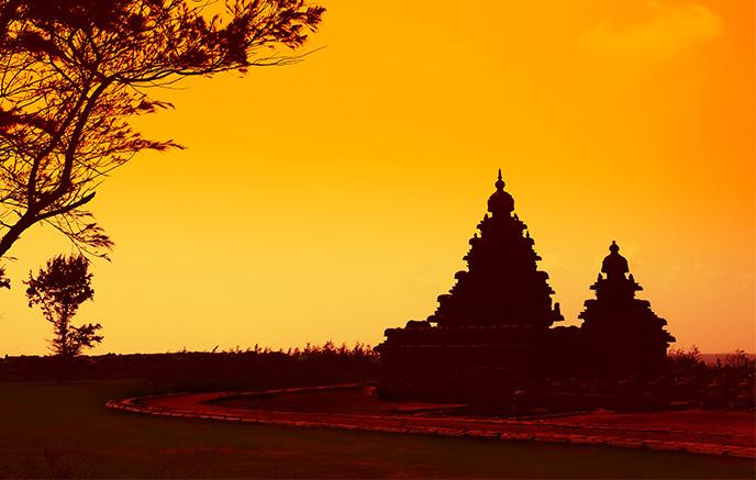 Mahabalipuram, patrimoine mondial de l'UNESCO