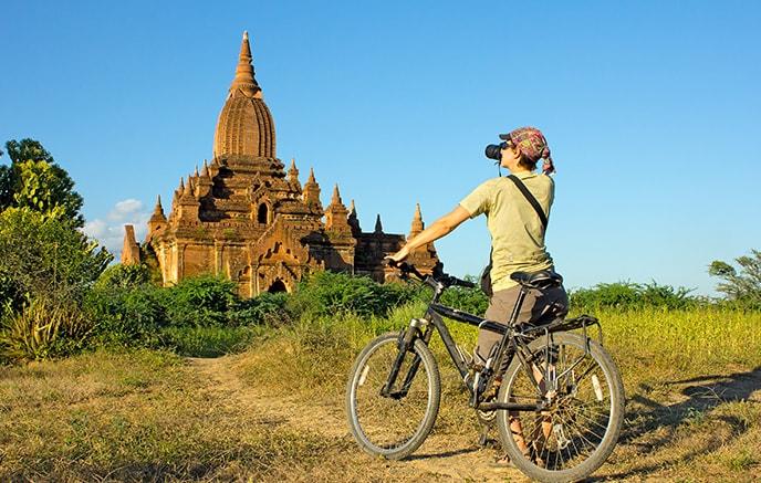Inle via bateau et vélo, découverte de la campagne du pays Shan