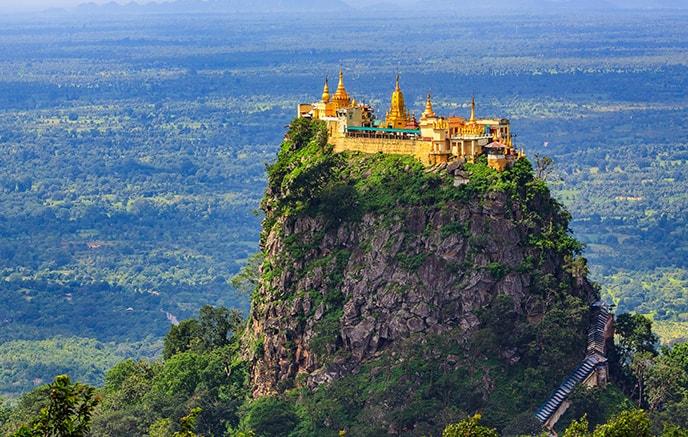 Bagan – Mont Popa