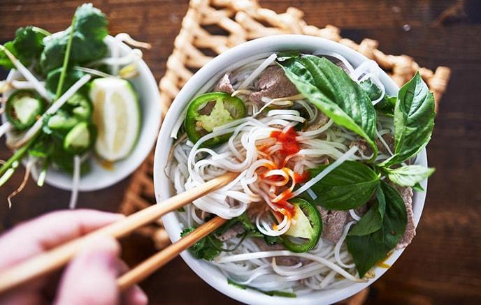 Hanoi - Découverte de la gastronomie du Vietnam et cours de cuisine