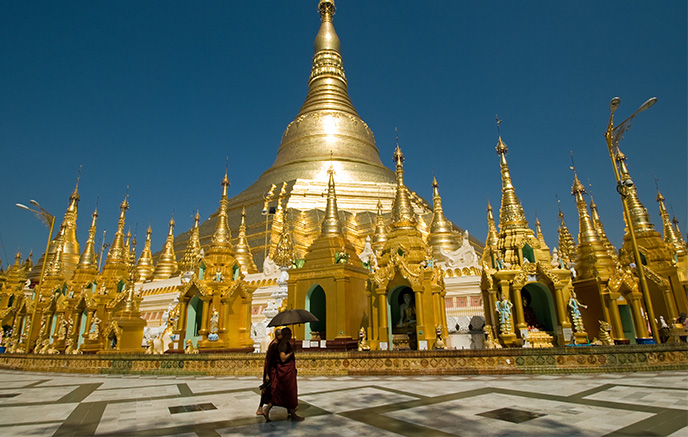 Lac Inle - Yangon