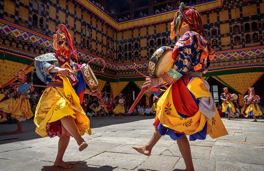 Les festivals du Bhoutan