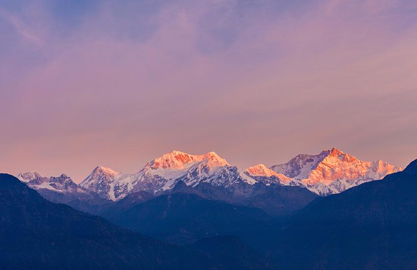 Trek au Sikkim vers le Kangchenjunga