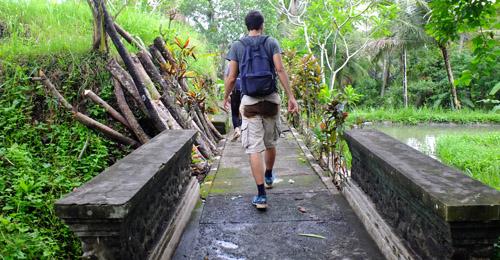trekking coeur bali