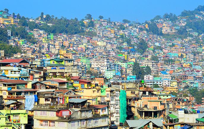Gangtok - Kalimpong (1300 m)