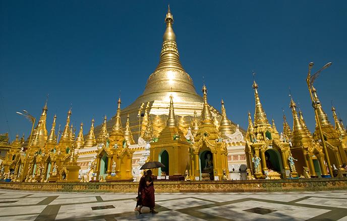 Arrivée à Yangon