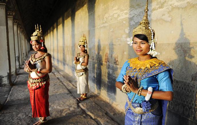 Arrivée à Siem Reap