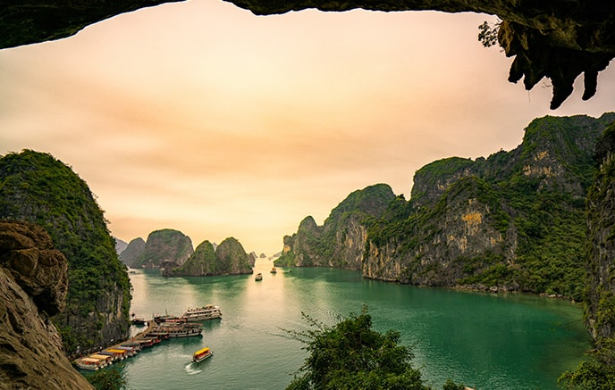 Halong Bucht – Hue