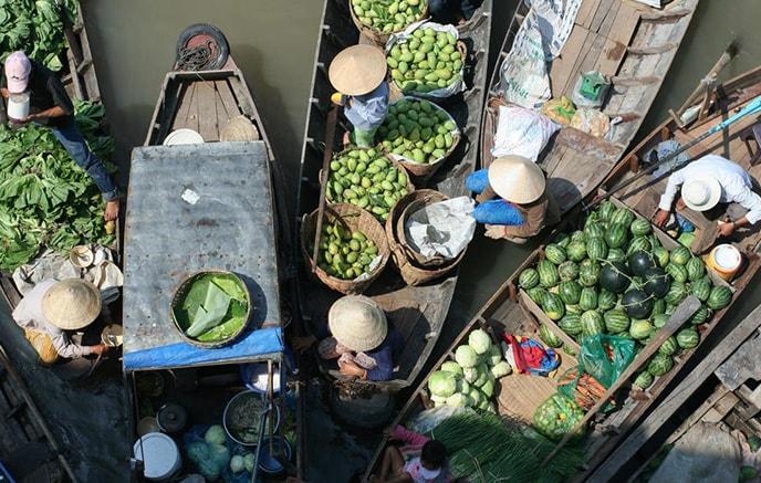 Image Croisière sur le Mékong