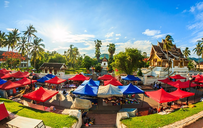 Luang Prabang - Vang Vieng