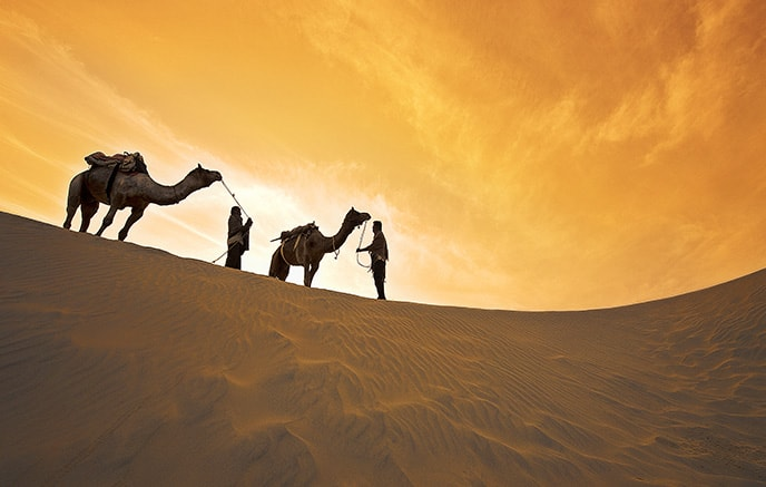 Le Thar – Jaisalmer - Jodhpur