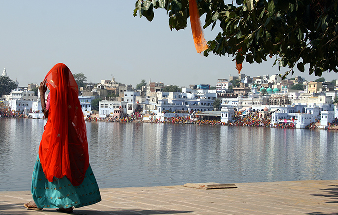 Pushkar, la ville sacré du Rajasthan