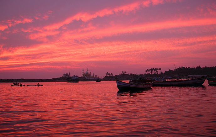 Région des backwaters – Cherai Beach