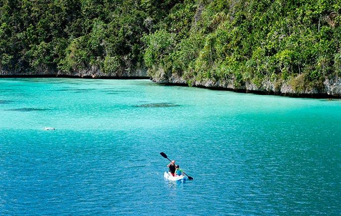 Archipel de Wayag – Baie d'Aljui