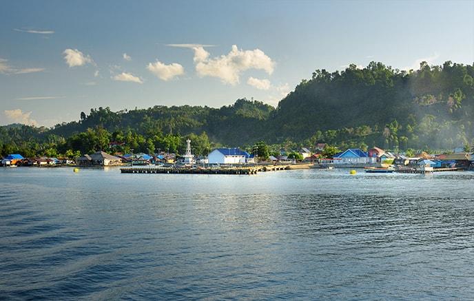 Ampana – îles Togian