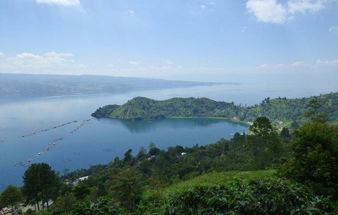 Berastagi – île de Samosir