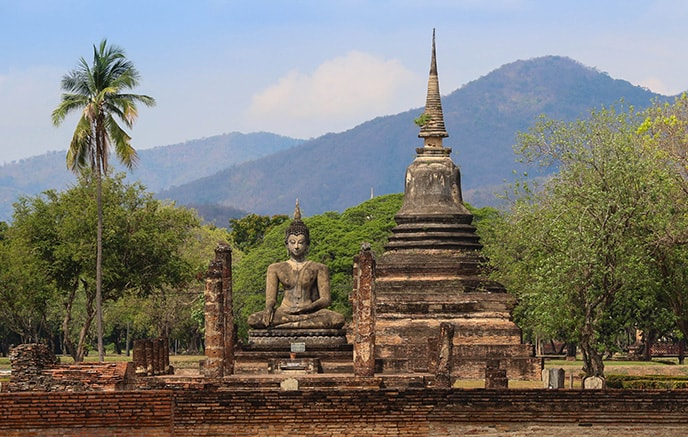 Ayutthaya - Sukhothai
