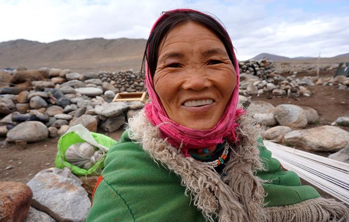 Journée avec les nomades Chang-Pas