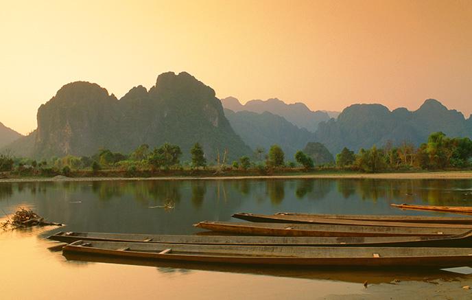 Vang Vieng - Vientiane