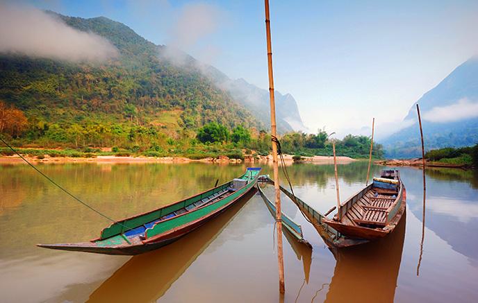 Chiang Rai - Pakbeng via Houessay