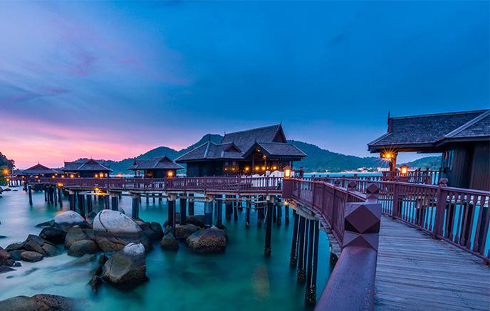 Penang – Ile  de Pangkor