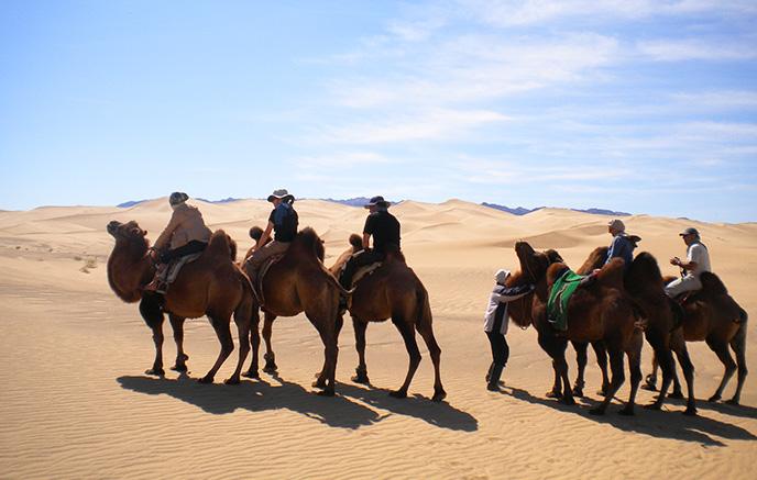 Dunes de Khongor Els