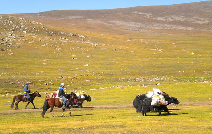 Vallée de L'Orkhon - Parc National De Naiman Nuur
