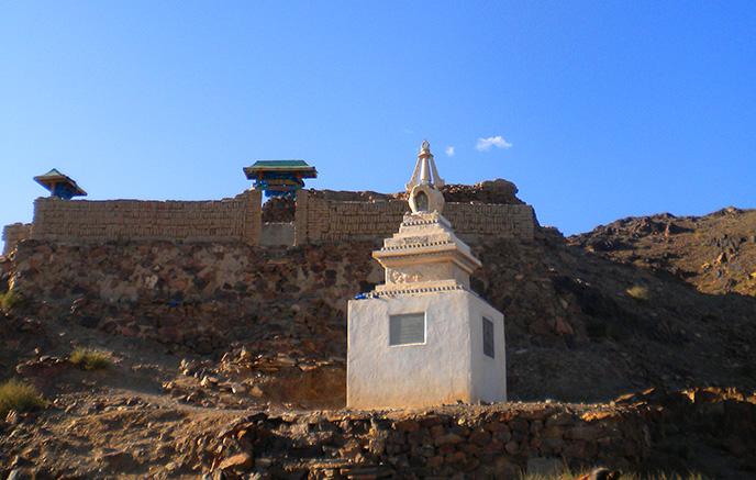 Naiman Nuur - monastère d'Ongii
