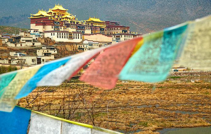 Image Montagnes et monastères - Tibet