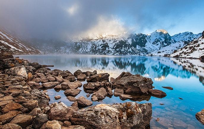 Gosainkund - Col de Gosainkunda (4600m) – Tharepati (3600m)