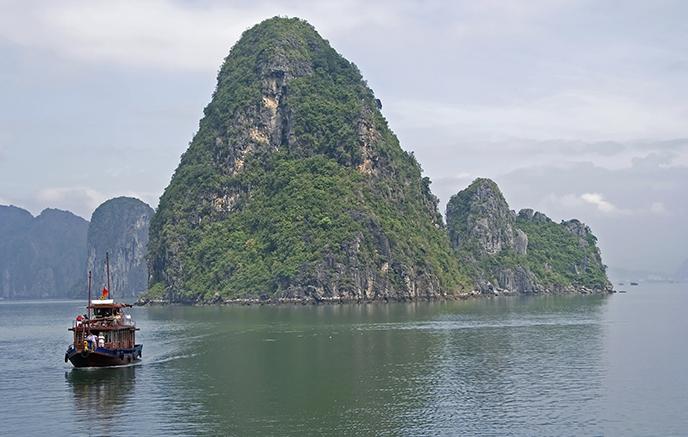Baie d'Halong - Hué