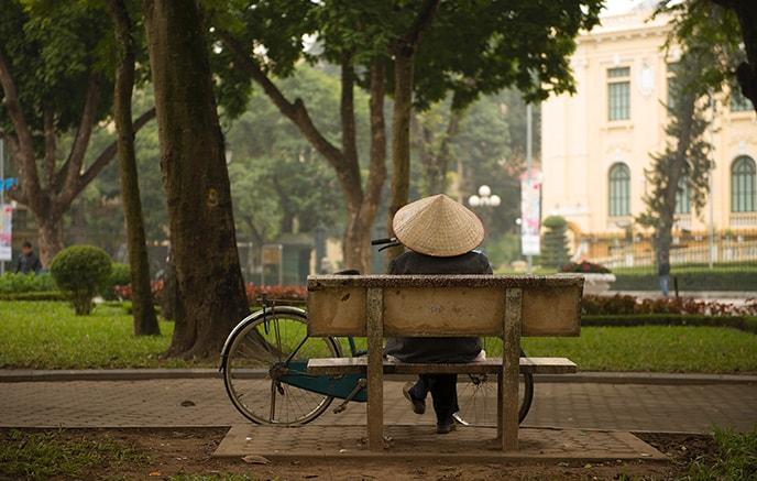 Arrivée à Hanoi