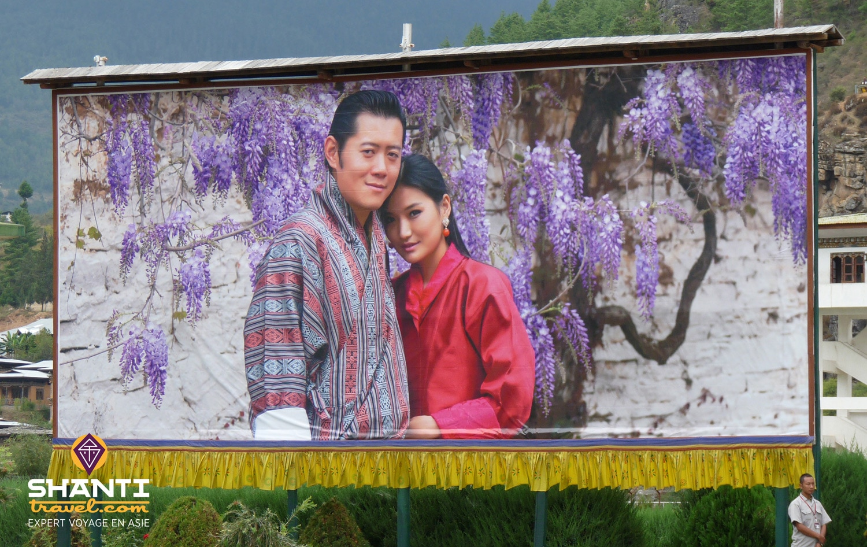 Couple royal du Bhoutan